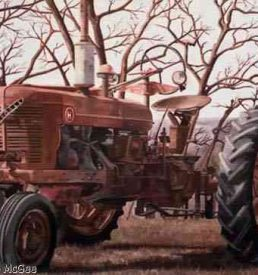 All Things Shall Pass Away - Rusty old Farmall H