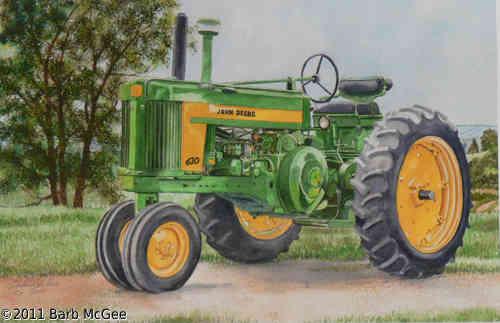Grandpa's Pride - Grandpa's old tractor renewed