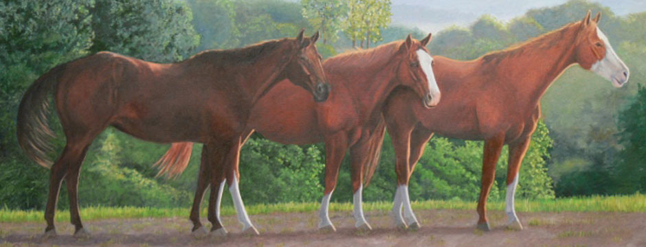 Lazy days Of Summer   Western Art for Sale in Iowa
