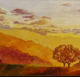 Two Tree Hill At Sundown